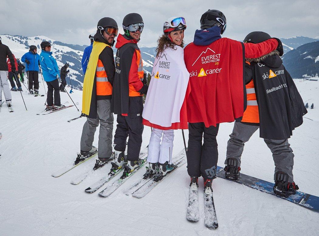 Ski 4 Cancer with Eddie the Eagle Edwards